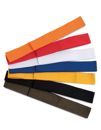 Farbiges Hutband für Strohhüte