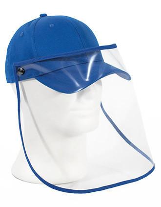 Kappe mit transparentem Schutzvisier