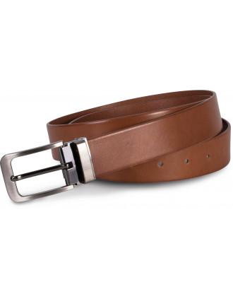 Klassischer Ledergürtel – 35mm