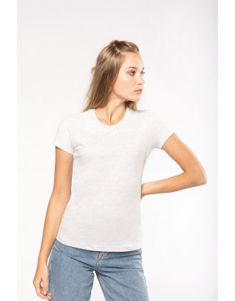 Kurzarm-Vintage-T-Shirt für Damen