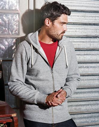 Herren Kapuzensweatshirt mit Reißverschluss