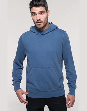 Kapuzensweatshirt aus French Terry