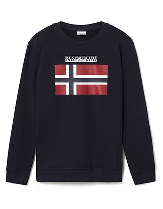 Sweatshirt mit Rundhalsausschnitt Bellyn C