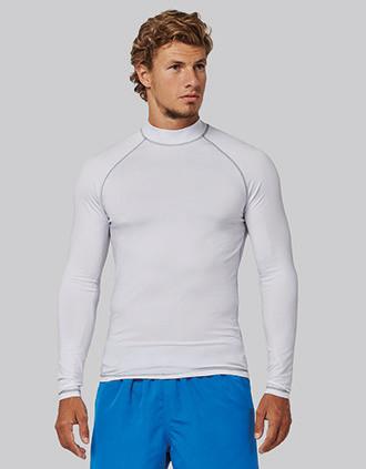 Herren-Funktionsshirt mit langen Ärmeln und UV-Schutz