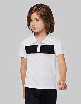Kurzarm-Polohemd für Kinder