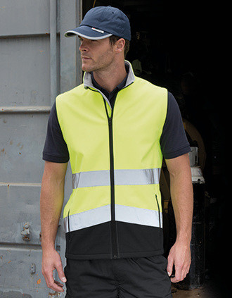 HIGH-VIZ SOFTSHELL JACKET