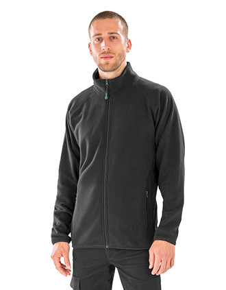 Polarthermie-Jacke aus recyceltem Fleece.