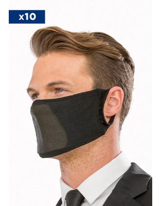 Waschbare und wiederverwendbare antibakterielle Maske