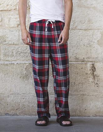 Men's tartan lounge trousers
