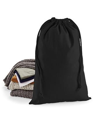 Kordelzugtasche aus Premium-Baumwolle