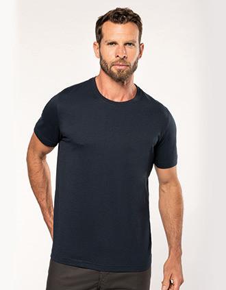 Umweltfreundliches Herren-T-Shirt mit Rundhalsausschnitt