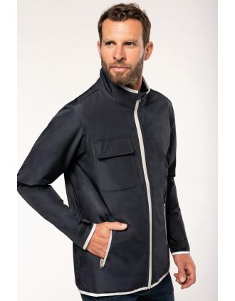4-Lagiger Jacke mit Wärmeisolierung